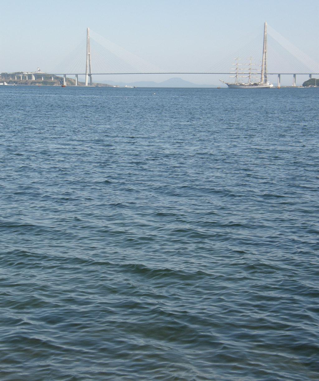 Приморье, Владивосток, Мост на остров Русский